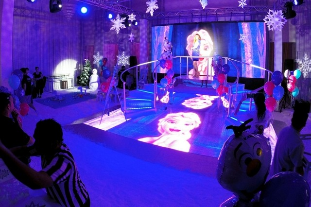 Frozen Party Themed Djs in Dartford Kent Powersounds Discos and Karaoke in Dartford Kent